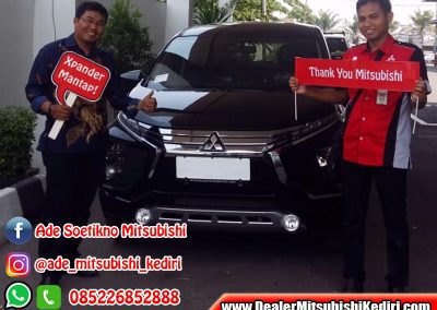 Foto Delivery Ade Sutikno Dealer Mitsubishi Kediri